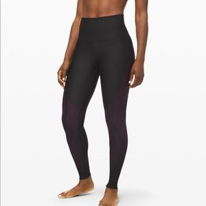 """Lululemon Mapped Out High Rise Tight 28"""" NWT"""